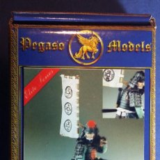 Hobbys: SAMURAI EN METAL BLANCO DE LA MARCA PEGASO MODELS 54 MMM. Lote 107382303