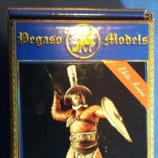 Hobbys: GLADIADOR EN METAL BLANCO DE LA MARCA PEGASO MODELS 54 MMM. Lote 107382339