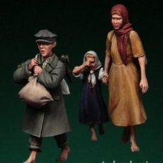 Hobbys: FIGURAS DE RESINA 1/35 - CHILDREN WWII. Lote 226980515