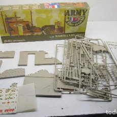 Hobbys: ESCALA 1/35 MAQUETA, DIORAMA NORMANDY 1944, ARMY OF THE WORLD, HUMBROL-HELLER. Lote 113968395