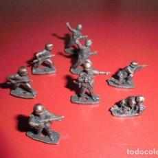 Hobbys: LOTE DE 8 SOLDADITOS MONTAPLEX HECHOS EN METAL, FABRICACIÓN ESPAÑOLA. Lote 120902247