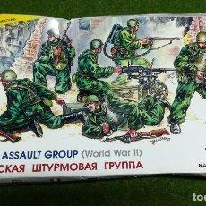 Hobbys: GRUPO DE ASALTO SOVIETICO - ZVEZDA 1/35 - REF 3509. Lote 123747795
