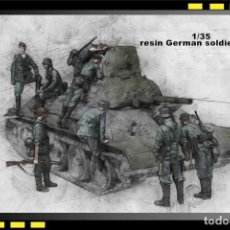 Hobbys: FIGURAS RESINA 1/35 - GERMAN SOLDIER INSPECTION WWII. Lote 125304691