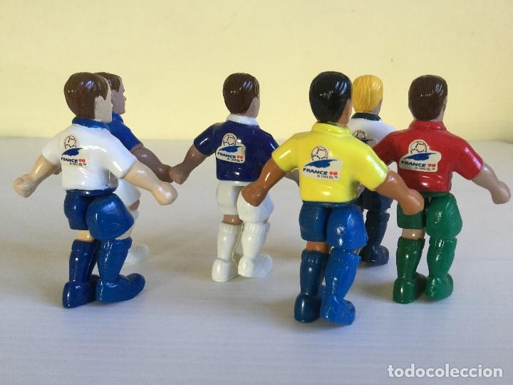Hobbys: Lote 6 figuritas goleadoras – Francia 98 – Cereales Nesquik – Nestlé - Foto 2 - 129460891
