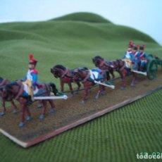 Hobbys: ARTILLERIA FRANCESA NAPOLEONICA A CABALLO.ESCALA 1/72.. Lote 132211766