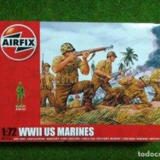 Hobbys: AIRFIX - MARINES AMERICANOS 2 GM 1/72 - REF A 01706. Lote 137826622