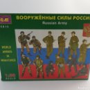 Hobbys: RUSSIAN ARMY ICM ESCALA 1:35 MODEL KIT ARMADA RUSA 1991. Lote 139070004