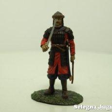 Hobbys: GUERRERO MONGOL SIGLO XII SOLDADO PLOMO 54 MM ALTAYA. Lote 139923289