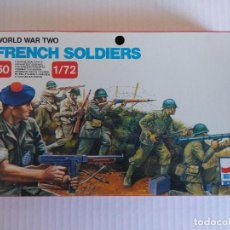 Hobbys: CAJA SOLDADOS FRANCESES/FRENCH SOLDIERS WOLRL WAR TWO/ESCI.. Lote 140298434