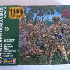 Hobbys: CAJA SOLDADOS USA/US PARATROOPERS/REVELL.. Lote 140298770