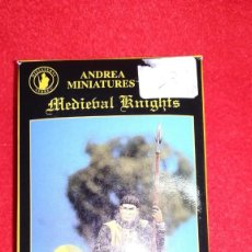 Hobbys: 54MM ANDREA MINIATURES - NORMAN KNIGHT 1180 - REF. SM-F12. Lote 144256950