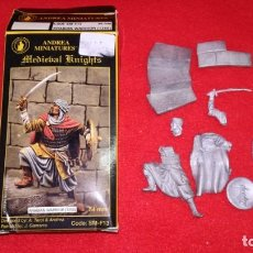 Hobbys: 54MM ANDREA MINIATURES - ARABIAN WARRIOR 1250 - REF. SM-F13. Lote 144257798