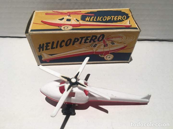 ANTIGUO HELICOPTERO (Juguetes - Modelismo y Radiocontrol - Figuras en miniatura)