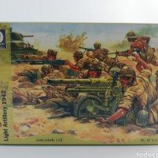 Hobbys: FOLGORE DIVISION ARTILLERIA LIGERA 1942,WATERLOO 1815, ESCALA 1:32 AP 014, SOLDADOS PLASTICO, NUEVO. Lote 144707649