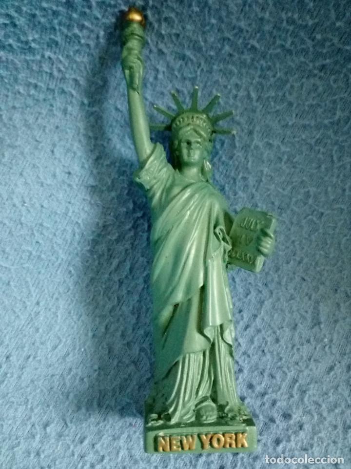 FIGURA DE CALIDAD DE LA ESTATUA DE LA LIBERTAD. NUEVA YORK, ESTADOS UNIDOS. (Juguetes - Modelismo y Radiocontrol - Figuras en miniatura)