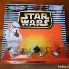 Hobbys: STAR WARS MICROMACHINES CLASSIC CHARACTERS. Lote 165635862