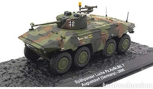Hobbys: Spähpanzer Luchs Pz.Aufkl.Btl. 7 de agosto. Alemania – 2000 año 1/72 escala Coleccionable Diecast - Foto 2 - 165640753