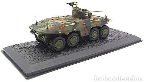 Hobbys: Spähpanzer Luchs Pz.Aufkl.Btl. 7 de agosto. Alemania – 2000 año 1/72 escala Coleccionable Diecast - Foto 4 - 165640753