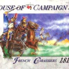 Hobbys: CAJA CON CORACEROS FRANCESES DE 1815 (BATALLA DE WATERLOO) DE A CALL TO ARMS A ESCALA 1/72. Lote 172587900