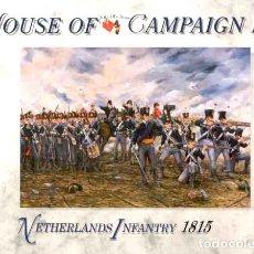 Hobbys: CAJA CON INFANTERÍA HOLANDESA EN WATERLOO (1815) DE A CALL TO ARMS A ESCALA 1/72. Lote 172587982