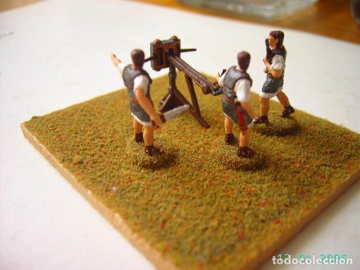 Hobbys: BALLISTA ROMANA CON ARTILLEROS.ESCALA 1/72. - Foto 2 - 172835127