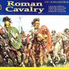 Hobbys: CAJA CON CABALLERÍA ROMANA DE LA ÉPOCA REPUBLICANA DE ITALERI A 1/72. Lote 173191822