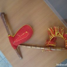 Hobbys: ANTIGUA GAITA DE MUÑECA PARA MUÑECA DE 45 CM. Lote 173670985