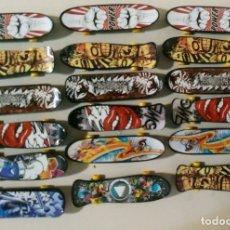 Hobbys: LOTE 18 MONOPATINES SKATE MINIATURAS REPETIDOS. Lote 177074872