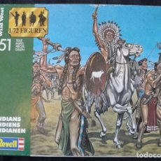 Hobbys: INDIANER WILD WEST INDIANS 2555 - 1990 BY REVELL - ESCALA 1/72 - VINTAGE -. Lote 178833185