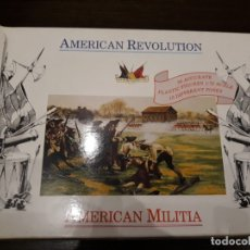 Hobbys: AMERICAN REVOLUTION , MILICIA AMERICANA 1:72. Lote 179112235