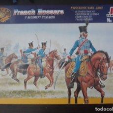 Hobbys: ITALERI HÚSARES FRANCESES GUERRAS NAPOLEÓNICAS 1:72. Lote 179188632