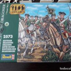 Hobbys: REVELL DRAGONES AUSTRIACA GUERRA 7 AÑOS 2 CAJAS EN UNA. Lote 179196492