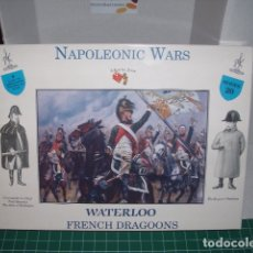 Hobbys: 1/32 A CALL TO ARMS NAPOLEONIC WARS, WATERLOO FRENCH DRAGOONS ( 2 CAJAS / BOXES ). Lote 180105937
