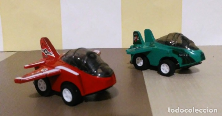 LOTE 2 AVIONES MINI FIGHTER MADE IN CHINA (Juguetes - Modelismo y Radiocontrol - Figuras en miniatura)