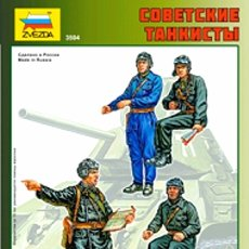 Hobbys: 3504 ZVEZDA 1/35 SOVIET TANK CREW SEALED / SOWJETISCHE TANKCREW. Lote 180478606