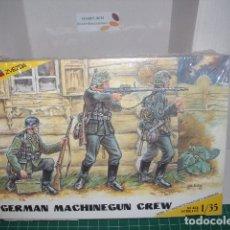 Hobbys: ZVEZDA 1/35 SEALED/PRECINTADO GERMAN MACHINEGUN CREW WW II. Lote 180480600