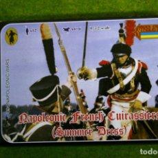 Hobbys: CORACEROS NAPOLEONICOS FRANCESES CON TRAJE DE VERANO 094 STRELETS 1/72. Lote 206590740
