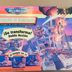 Hobbys: MICROMACHINES PARQUE DE BOMBEROS. Lote 181007145