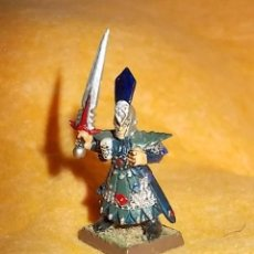 Hobbys: LOTE FIGURA ANTIGUA GAMES WORKSHOP DE 1984 - TIPO WARHAMMER - CABALLERO. Lote 185427533