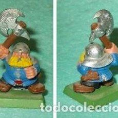 Hobbys: LOTE FIGURA ANTIGUA GAMES WORKSHOP DE 1995 - TIPO WARHAMMER / SEÑOR DE LOS ANILLOS - GUERRERO ENANO. Lote 185999300