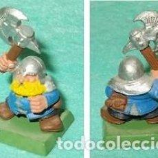Hobbys: LOTE FIGURA ANTIGUA GAMES WORKSHOP DE 1995 - TIPO WARHAMMER / SEÑOR DE LOS ANILLOS - GUERRERO ENANO. Lote 185999836