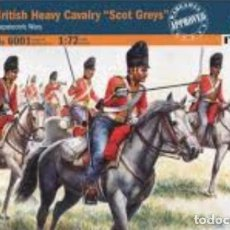 Hobbys: 6001 ITALERI 1/72 BRITHISH HEAVY CAVALRY SCOT GREYS. Lote 189751892