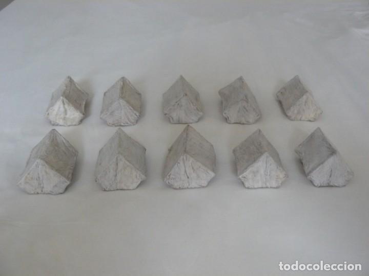 28MM CAMPAMENTO CON 10 TIENDAS DE CAMPAÑA PINTADAS (ACW, SUDAN, ZULULANDIA, I GM., ETC) (Juguetes - Modelismo y Radiocontrol - Figuras en miniatura)