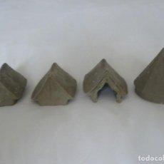 Hobbys: 28MM REDOUBT MINIATURES 4 TIENDAS EN RESINA (ACW, AWI, SUDAN, ZULULANDIA, I GM., ETC). Lote 189986426