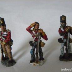 Hobbys: 28MM ELITE MINIATURES SERIE NAPOLEONICA 3 SOLDADOS BRITÁNICOS PINTADOS EN BUENA CALIDAD. Lote 190241603