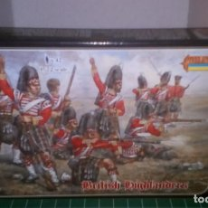 Hobbys: 0029 STRELETS 1/72 CRIMEAN WARS BRITISH HIGHLANDERS. Lote 190519411