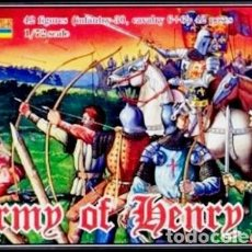 Hobbys: ARMY OF HENRY V (STRELETS-R) (JUANA DE ARCO). Lote 191710050