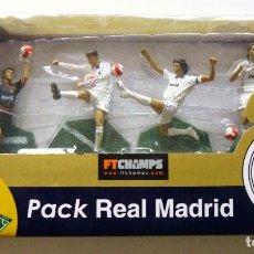 Hobbys: PACK REAL MADRID CAMPEON LIGA 2006-2007 CREO QUE CASILLAS VAN NISTELROY RAUL MICHEL SALGADO FTCHAMPS. Lote 192125620