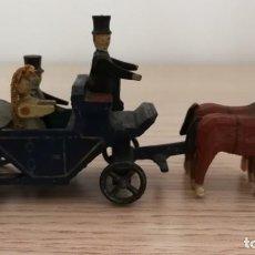 Hobbys: CARRUAJE DE BODA, MINIATURA ALEMANA CIRCA 1900. Lote 192461438