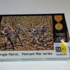 Hobbys: MB JUNGLE PATROL VIETNAM WAR SERIES PERSONAJES PLÁSTICO ESCALA 1:35. Lote 192858450